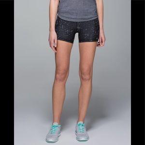 Lululemon What the Sport black short